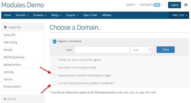 Exist Domain