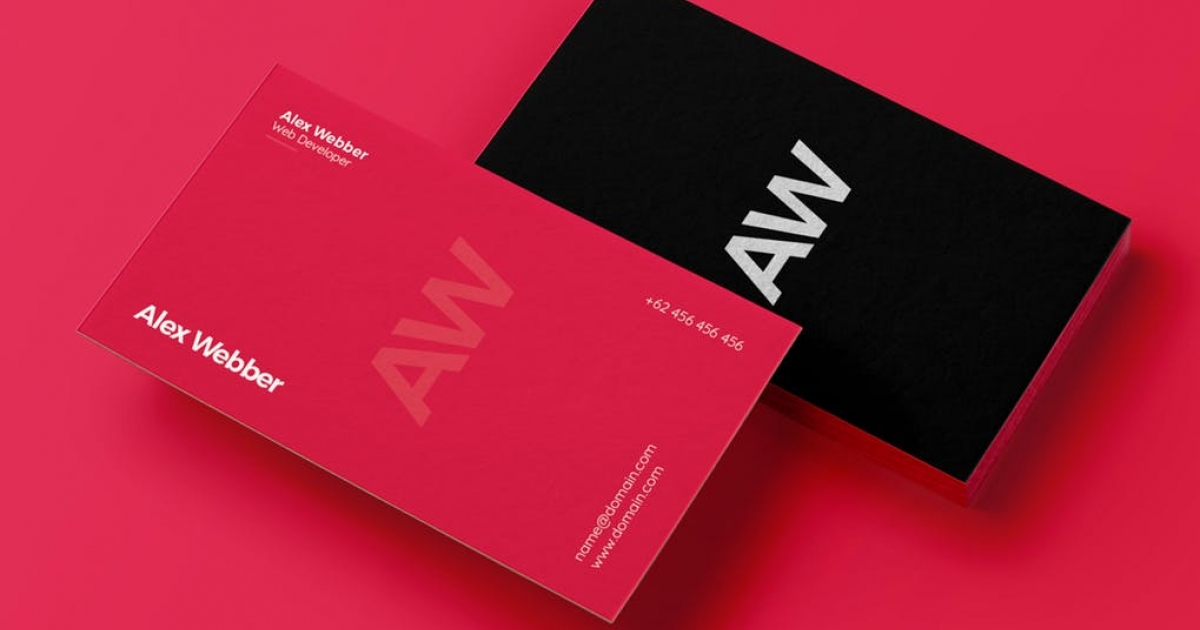 Astdafa Com Creative Business Card Item